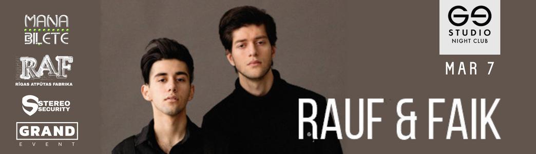 Rauf & Faik koncerts martā studio 69